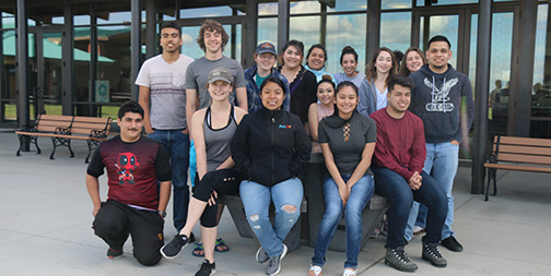 Group of DACA students
