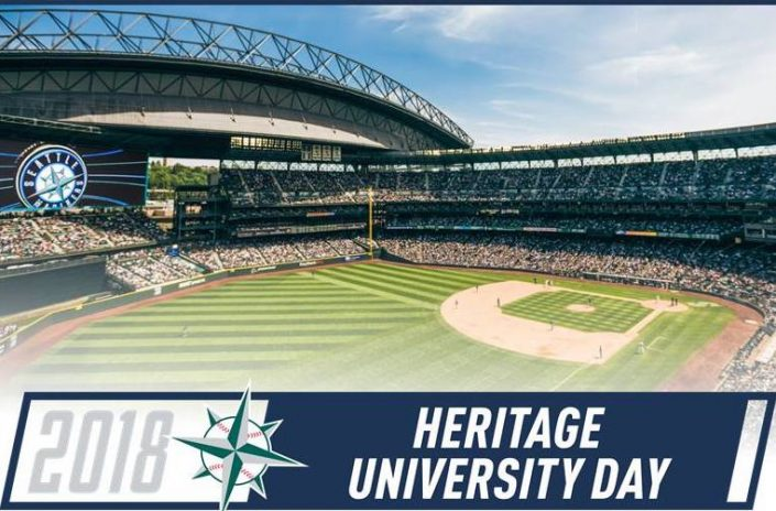 Heritage University Day at the Mariners