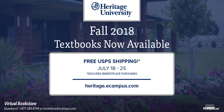 Fall 2018 Textbook Now Available