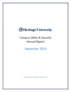 Campus Safety & Security Annual Report 2019