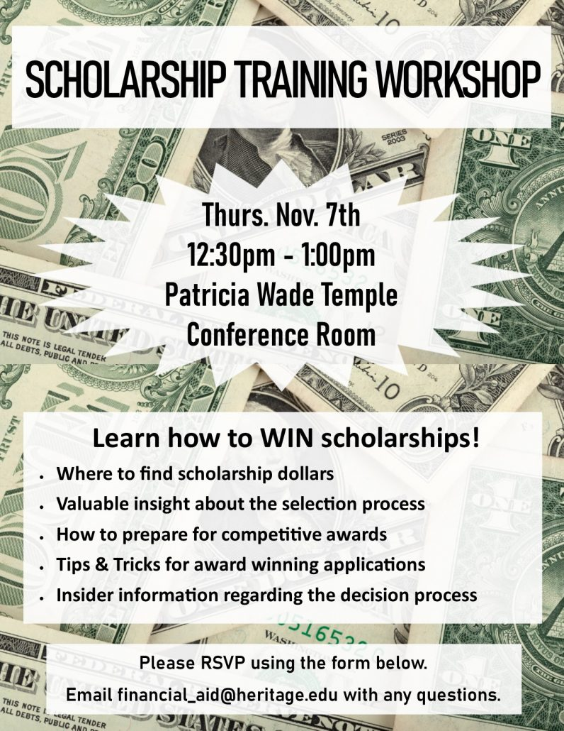 Learn how to win scholarships - where to find them and how to create winning applications