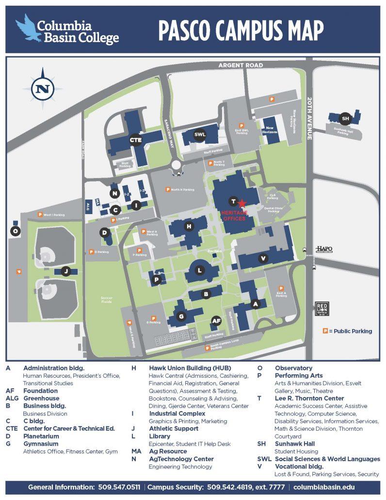 CBC Campus Map