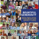 A collage of those who raised a virtual paddle for the Bounty of the Valley Virtual Scholarship Dinner